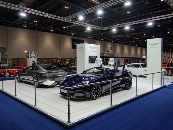 Exhibition Stand Car : Island exhibitions proud to build for aston martin at