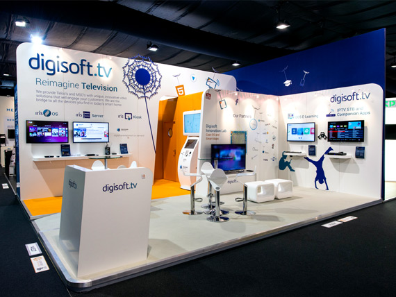 Exhibition Displays Uk : Island build fantastic exhibition stands at ibc
