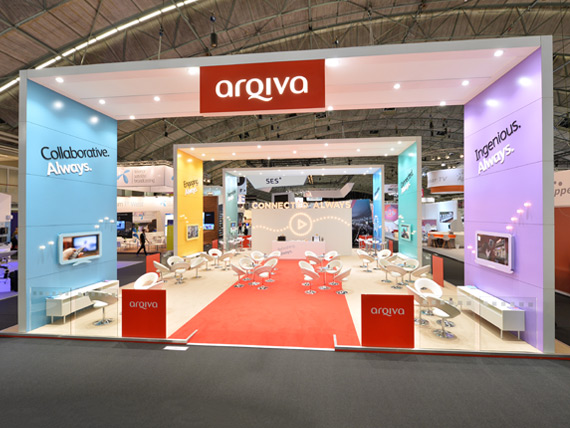 Arqiva Exhibition Stand